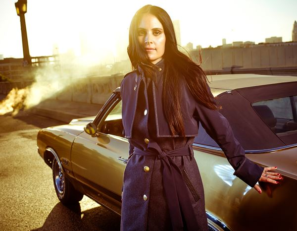 workwear couture: Iconic Trench + darkblue 1