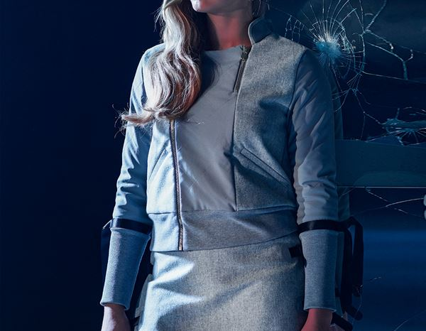 workwear couture: Rebellion Jacket + grey 2