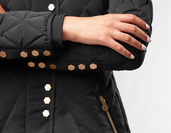workwear couture: Long Down Jacket + black 1