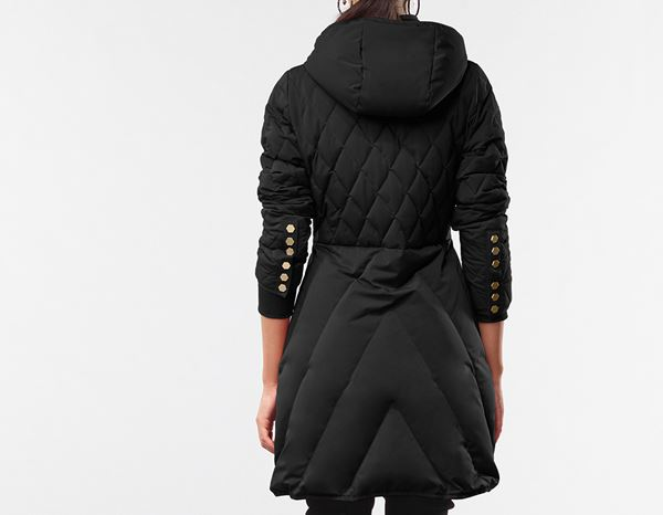 workwear couture: Long Down Jacket + black 2