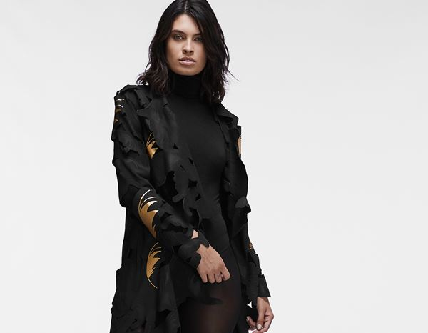workwear couture: Signature Coat + black/gold 1