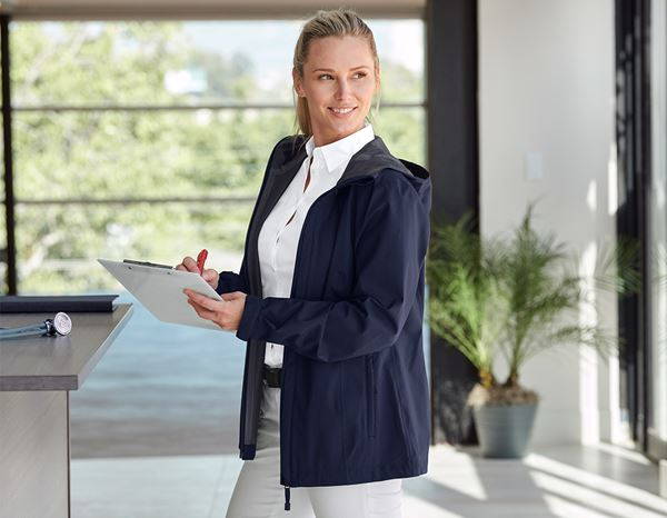 Work Jackets: e.s. Functional jacket CI, ladies' + navy 1