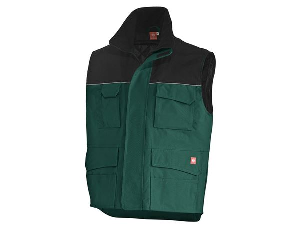 Body Warmer: Bodywarmer e.s.image  + green/black
