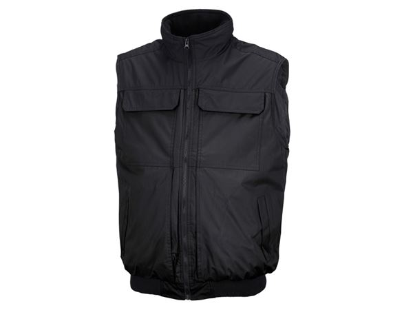 Work Body Warmer: STONEKIT Bodywarmer Viborg + black