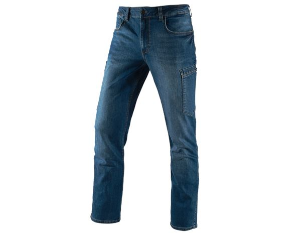 Hosen: e.s. 7-Pocket-Jeans + stonewashed