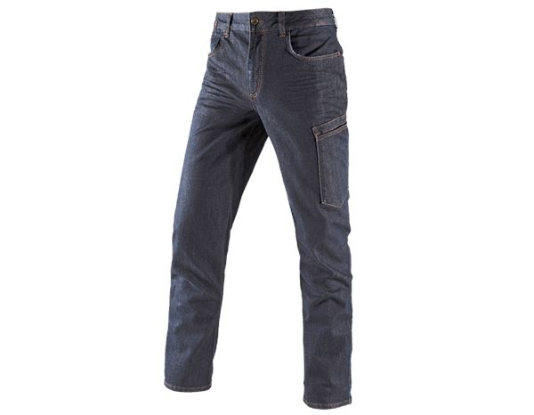 Hosen: e.s. 7-Pocket-Jeans + darkdenim