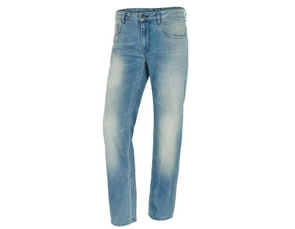Jeans: e.s. 5-pocket jeans + lightwashed