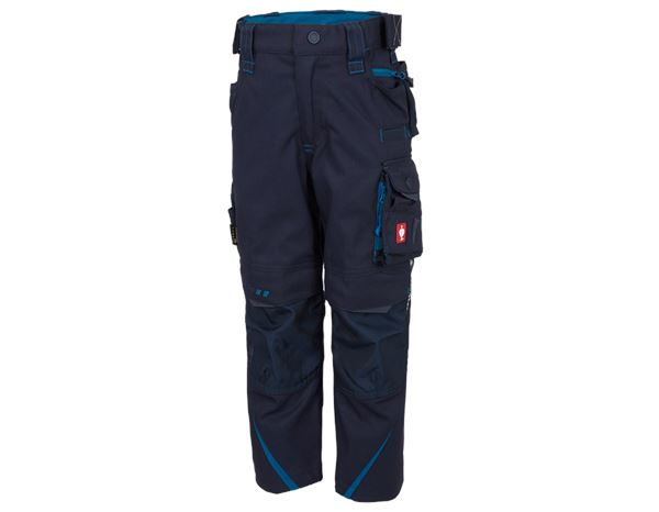 Trousers / Shorts: Trousers e.s.motion 2020, children's + navy/atoll