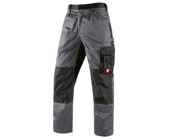 Work Trousers: Trousers e.s.image + grey/black