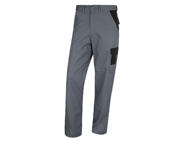 Work Trousers: STONEKIT Trousers Odense + grey/black