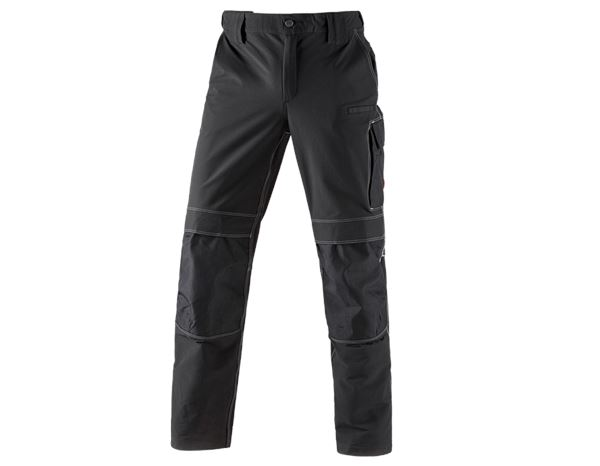Hosen: Winter Funktions Bundhose e.s.dynashield + schwarz