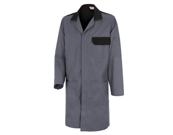 Healthcare |  Work Coats: STONEKIT Work Coat Odense + grey/black