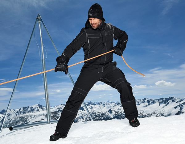 Overalls: Functional overall snow e.s.dynashield + black 1