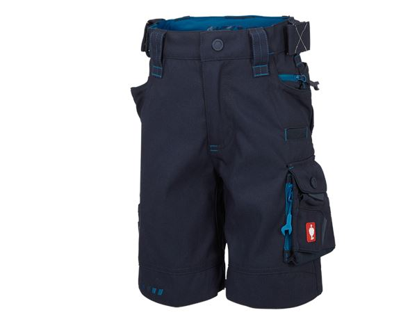 Trousers / Shorts: Shorts e.s.motion 2020, children's + navy/atoll