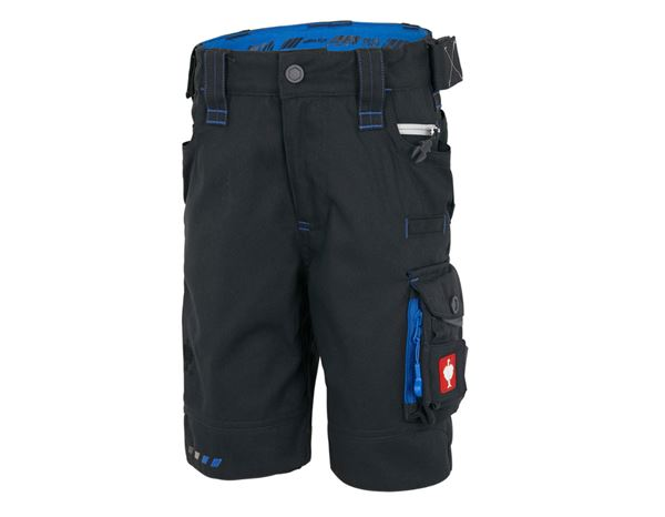 Trousers / Shorts: Shorts e.s.motion 2020, children's + graphite/gentian blue