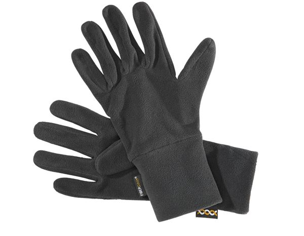 Accessories: e.s. FIBERTWIN® microfleece gloves + black