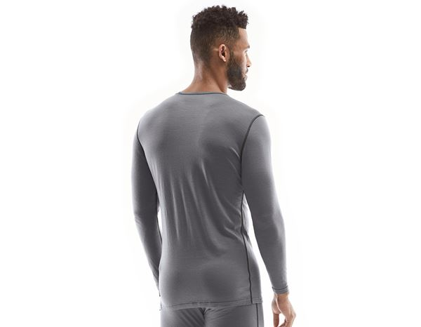 Underwear | Functional Underwear: e.s. Long sleeve Merino, men's + cement/graphite 1
