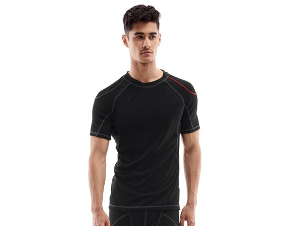 Underwear | Functional Underwear: e.s. functional-t-shirt basis-warm + black