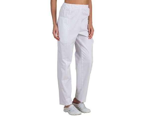 Work Trousers: Ladies' Trousers Cindy + white