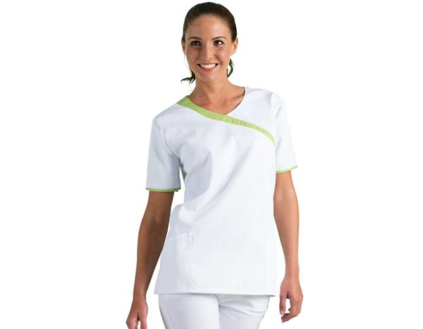 Shirts, Pullover & more: Tunic Maren + white/apple green