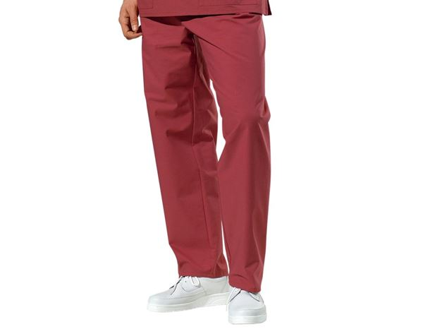 Work Trousers: OP-Trousers + bordeaux
