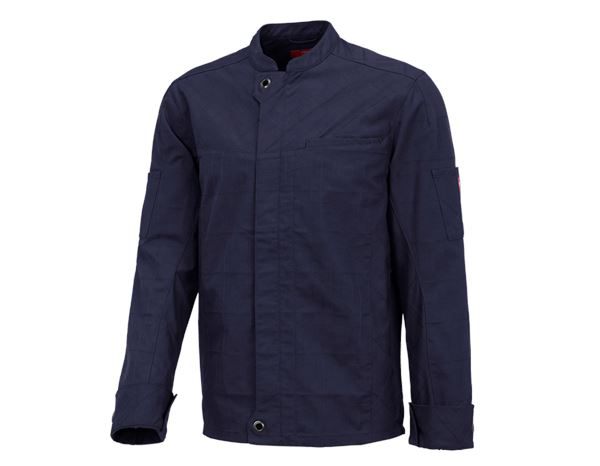 Chef's Jackets / Chef's Whites: Work jacket long sleeved e.s.fusion, men's + navy