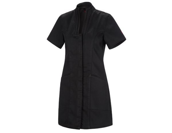 Hauts: Tunique-manteau court denim raw e.s.fusion + noir