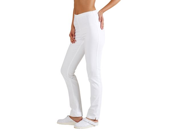 Medical / Healthcare Trousers: Treggings Natalina + white