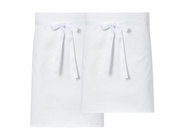 Aprons: Three-Pack Short Aprons + white