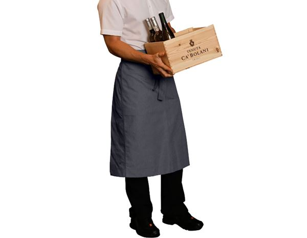 Catering Aprons: Catering Apron e.s.fusion, men's + pacific melange