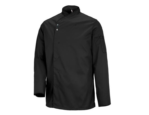 Shirts, Pullover & more: Chefs Jacket Lyon + black
