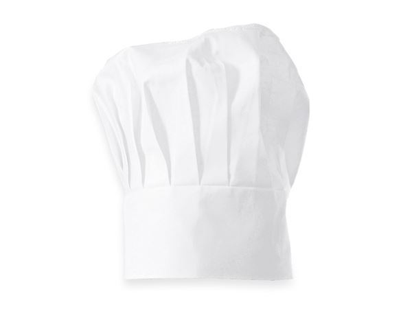 Accessories: Cotton Chefs Hats + white
