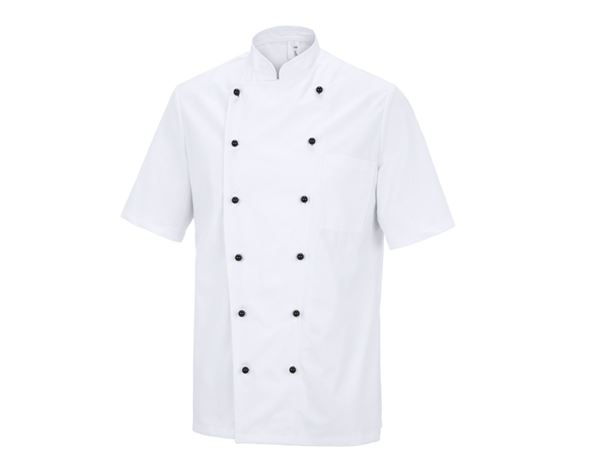 Shirts, Pullover & more: Unisex Budget Chefs Jacket Budapest + white