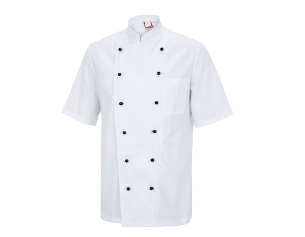Shirts, Pullover & more: Unisex Chefs Jacket Bilbao + white