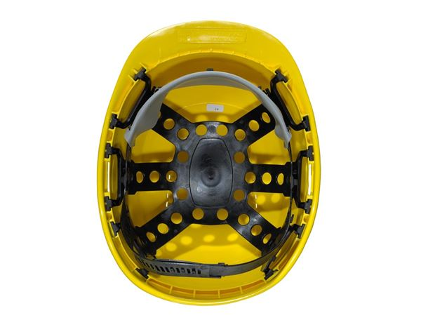Casques de Sécurité: Casque de protection à 6 points + jaune 1