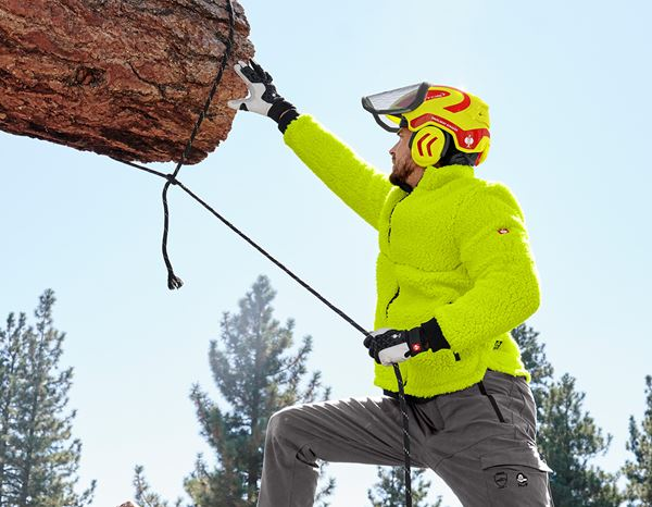 Hard Hats: e.s. Forestry helmet Protos® + high-vis yellow/fiery red 3