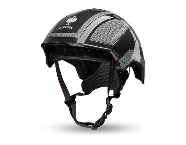 Hard Hats: e.s. Mountaineer and climbing helmet Protos® + black/anthracite