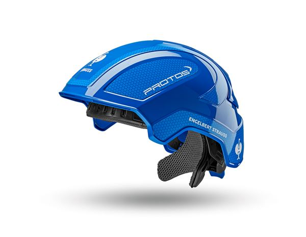 Hard Hats: e.s. Work helmet Protos® + blue/gentian blue