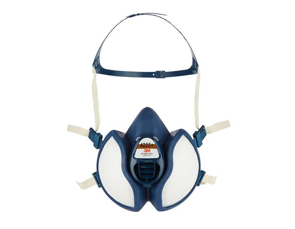 Respirators: 3M Paint spray mask 4255  FFA2P3 R D
