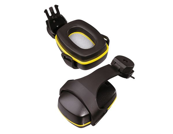 Ear Defenders: Spare hearing protectors + black/yellow