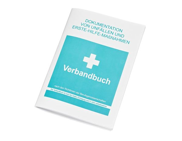 First Aid Accessories: Verbandbuch