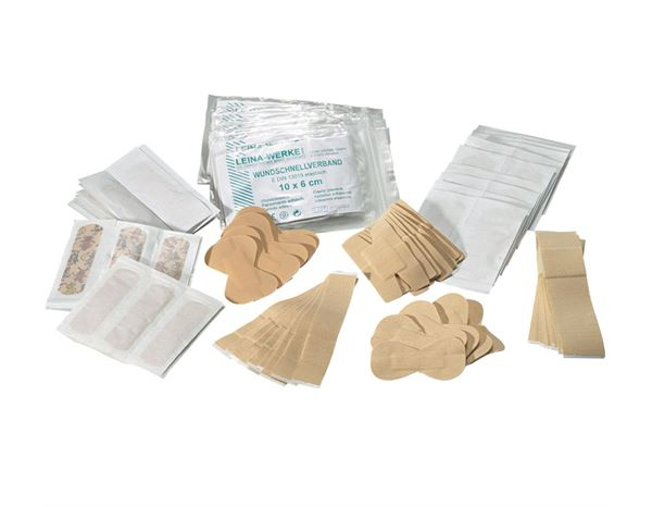 First Aid Supplies: Extra-Pflaster-Set, 120-teilig