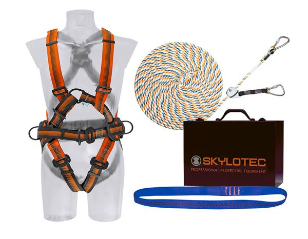 Fall Prevention: Skylotec Safety set II (DIN EN 363:2008)