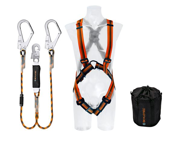 Fall Prevention: Skylotec Safety set IV (conforms DIN EN 363:2008)