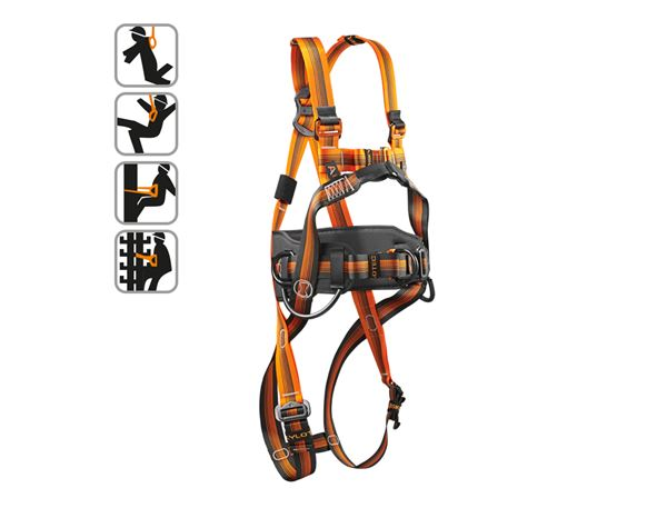 Fall Prevention: Skylotec safety harness Komfort Plus
