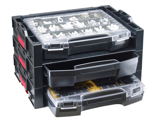 Tool Cases: e.s. i-Rack active + black/red 1