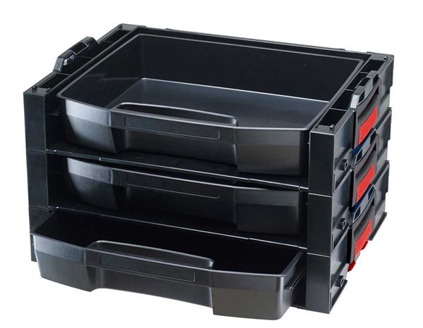 Tool Cases: e.s. i-Rack active + black/red 2