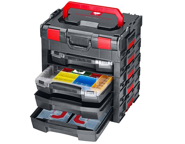 Tool Cases: e.s. i-Rack active + black/red 10