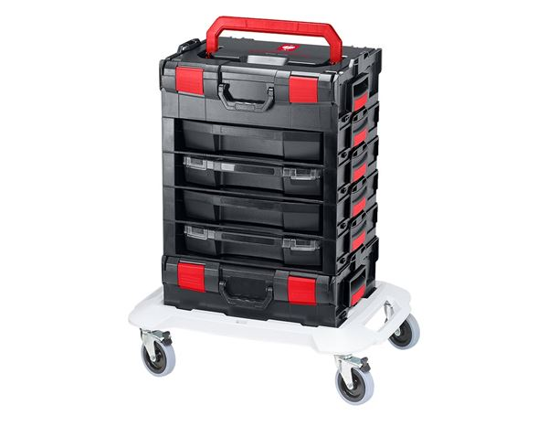 Tool Cases: e.s. i-Rack active + black/red 8