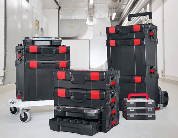 Tool Cases: e.s. i-Rack active + black/red 11